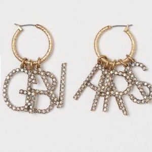Giambattista Valli x hm sparkly earrings